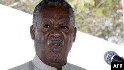 아프리카 잠비아의 마이클 사타 대통령 (자료사진)
