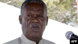 마이클 사타 잠비아 대통령 (자료사진)