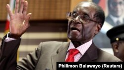 Robert Mugabe,Shugaban Zimbabawe