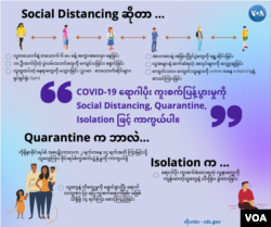 social distancing, quarantine, isolation