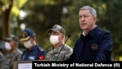 Hulusi Akar Minister of National Defence of Turkey
