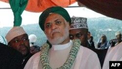 Ahmed Abdallah Sambi le 26 mai 2006