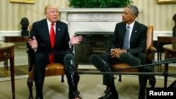 Rais Barack Obama amekutana na rais mteule Donald Trump