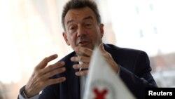 Peter Maurer, presidente do Comité Internacional da Cruz Vermelha