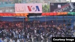 در این رقابت هزاران شهروند کابل و سایر ولایات افغانستان برای تماشا حضور به هم رسانیده بودند.
