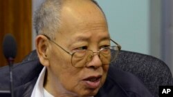 Ieng Sary, the co-founder and foreign minister of the Khmer Rouge, died early Thursday morning at age 87.