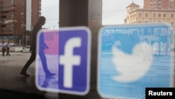 VOA连线(许湘筠):推特脸书关闭大批就香港散布不实信息的假账号