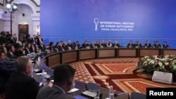 دور پیشین مذاکرات صلح سوریه در آستانه، قزاقستان
