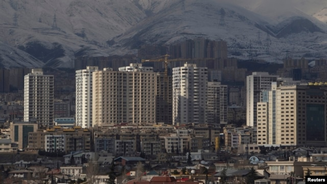 FILE - General view of housing complexes in northwestern Tehran, February 2011.