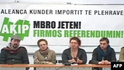 Aleanca Kundër Importimit të Plehrave mbledh firma për referendum
