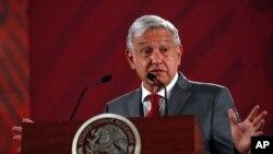 Presiden Meksiko, Andrés Manuel López Obrador, menegaskan tidak akan ada paket stimulus ekonomi besar terkait dengan pandemi virus corona. (Foto: dok).