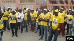 Angola CASA CE militantes