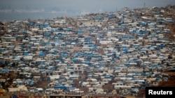 Izbeglički kamp u Idlibu u Siriji.