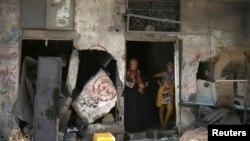 ساکنین نوار غزه چند سال است که از جنگ میان حماس و اسرائیل آسیب می بینند. آرشیو