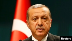 Le président Recep Tayyip Erdogan de la Turquie, 2o juillet 2016