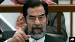 Саддам Хуссейн. Архивное фото, 2006г.