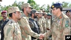 جنرل اشفاق پرویز کیانی نے جمعرات کو مہمند ایجنسی کا دورہ کیا