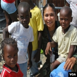 Karen Eifert, Pòtpawòl Militè Minustah ann Ayiti.