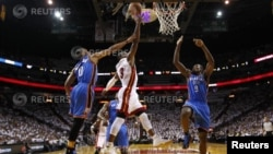 Miami Heats против Oklahoma City Thunder's