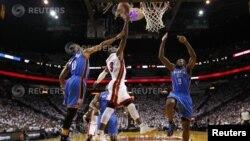 Miami Heats против Oklahoma City Thunder's