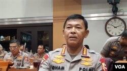 Kapolri Jenderal Idham Azis. (VOA/Fathiyah)