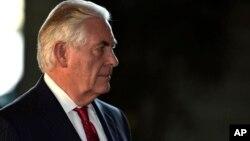 Menteri Luar Negeri AS, Rex Tillerson tidak akan menghadiri KTT NATO di Brussels April mendatang (foto: dok).