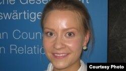 Сара Пагунг - эксперт Германского совета внешней политики