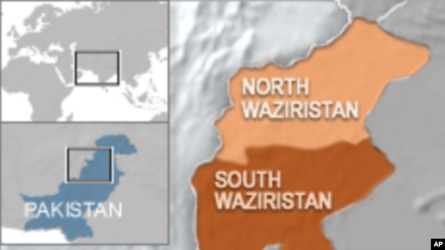 Waziristan map