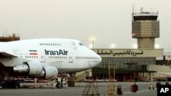 Mideast Iran Boeing