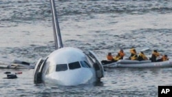 "Amazingly, there was no call of ""mayday"" from the pilot who landed the Airbus 320 on the Hudson River in 2009."