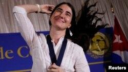 Yoani Sánchez ha sido reconocida por ser una de las voces más críticas al régimen cubano y ha recibido varios premios como el Ortega y Gasset de Periodismo Digital en 2008.