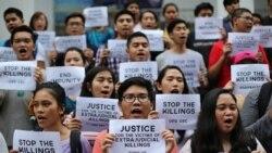 ဖိလစ္ပိုင္ မူးယစ္ မသကၤာမႈနဲ႔ အသတ္ခံရသူ ၅၀၀ ေက်ာ္ၿပီ