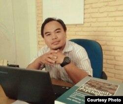 Triantono, peneliti dari Rifka Annisa Yogyakarta (Foto courtesy: Triantono)