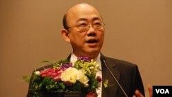 民進黨前立法委員郭正亮表示,中共新領導人應該給中華民國一個定位
