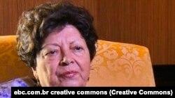 Maria Eugénia Neto, viúva de Agostinho Neto, creative commons