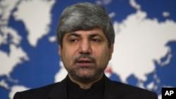 伊朗外交部发言人迈赫曼帕拉斯特(资料照片)