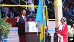 Perezida Paul Kagame arahirira kuyobora u Rwanda