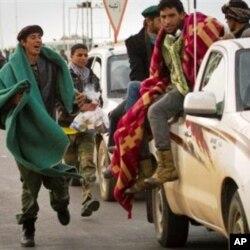 Libye: repli des rebelles vers l'Est