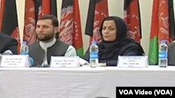 ضیاالحق عمرخیل په کابل کې د یوې خبرې غونډې پر مهال