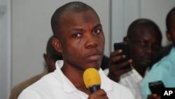 Abdullahi Mustapha Berende, một trong 3 nghi can bị bắt ở Nigeria