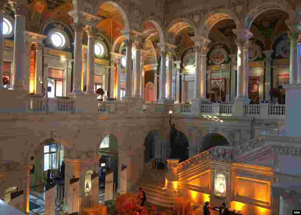 Фойе Библиотеки Конгресса