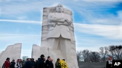 Sanamu ya Martin Luther King mjini Washington Dc.