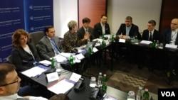 """Debata """"We Did It Our Way - Od mini Šengena do maksi koristi"""", u organizaciji Centra za evroatlantske studije, u Beogradu, 31. januara 2020. (Foto: Veljko Popović, VoA)"""