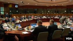 歐盟各國財長會議
