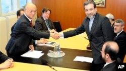 El vicecanciller iraní Abbas Araghchi, y el director general de la AIEA, Yukiya Amano, acordaron reanudar las negociaciones de inmediato, el martes 29 de octubre.