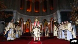 Božićna liturgija u Hramu Svetog Save u Beogradu