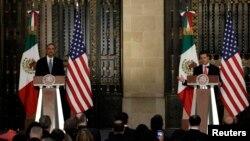 El presidente Barack Obama aseguró que su gobierno continuará apoyando la seguridad en México, pero que el desarrollo económico es primordial.