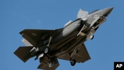 Arizona Base F-35 Training