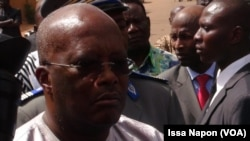 Roch Kabore le président du Burkina Faso