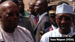 Roch Kabore et Idriss Deby, Ouagadougou, Burkina Faso, 21 janvier 2016